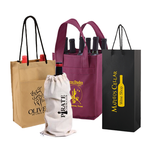 Why Are Reusable Wine Bags The Best Options For Your Winery?
